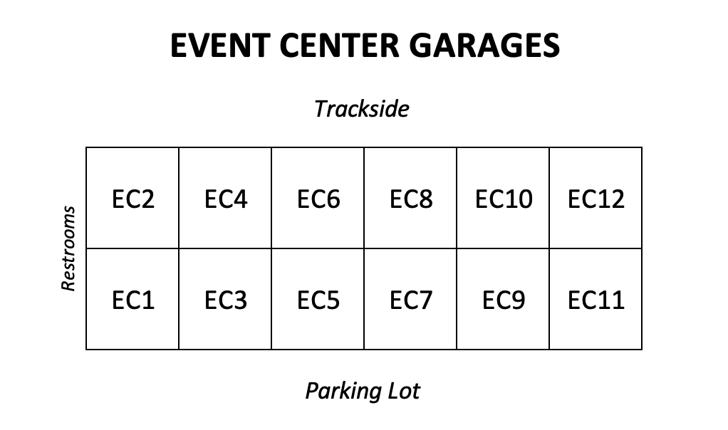 Event Center Garage Layout